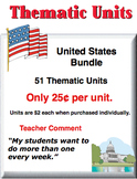 A Bundle - United States Thematic Units