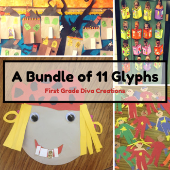 A Bundle of 8 Wildly Engaging Glyphs {With Math & Writing