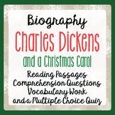 A Christmas Carol: Charles Dickens His Life and Times