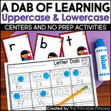 A Dab of Learning {Uppercase & Lowercase Letter Recognitio