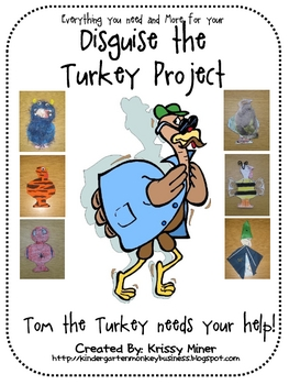 A Disguise the Turkey Unit With Everything You Need and MORE