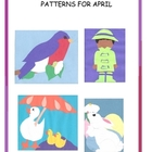 A Downloadable Collection of Cut and Paste Patterns for Ap