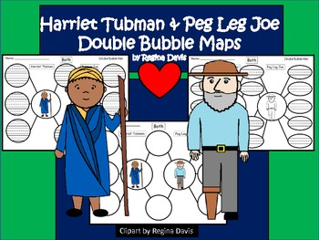 https://www.teacherspayteachers.com/Product/A-Harriet-Tubman-Peg-Leg-Joe-Double-Bubble-Maps-569596