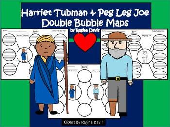 https://www.teacherspayteachers.com/Product/A-Harriet-Tubman-Peg-Leg-Joe-Double-Bubble-Maps-569596