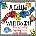 A Little Dot Will Do It – No-Prep Beginning Sounds Dauber