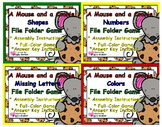A Mouse and A Cookie Basic Skills File Folder Games Set