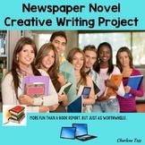 A Novel Newspaper Creative Writing Activity