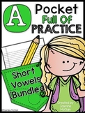 A Pocket Full of Practice (Short Vowels BUNDLED)