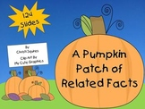 A Pumpkin Patch of Related Facts (SMARTBoard Lesson)