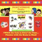 A SECRET STORIES® Sampling!  (phonics chunks / spelling chunks)