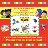 A SECRET STORIES® Sampling!  (phonics chunks / spelling chunks)