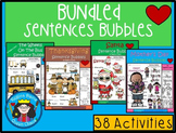 A+ Sight Word Sentence Mega Bundle: Fill In the Blank.Mult