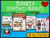 A+ Sight Word Sentence Mega Bundle: Fill In the Blank.Mult