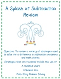 A Splash of Subtraction Review