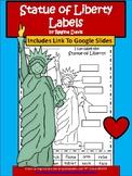 A+ Statue of Liberty Labels