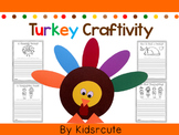 Thanksgiving Turkey Craft and Writing Pages