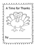 "A Thanksgiving Book: ""I Am Thankful for..."" Student Writin"