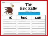 A+ The Bald Eagle: Graphic Organizers