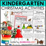 A Very Kinder Christmas {A Kindergarten Christmas Value Pack}