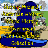 American History, World History, and Geography Collection