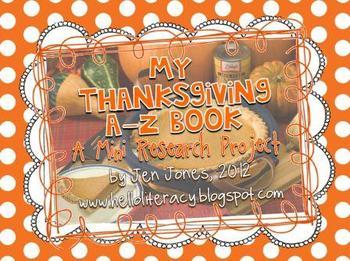 A-Z Book: Thanksgiving