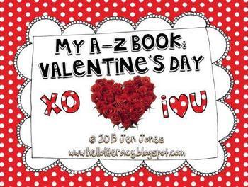 A-Z Book: Valentine's Day