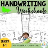 A-Z Handwriting Sheets - Victorian Cursive