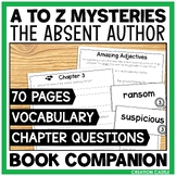 """A-Z Mysteries """"The Absent Author"""" Book Unit"""