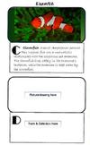 ABC Vocabulary Book Template