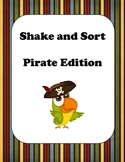 ABC Order - Shake and Sort Pirates