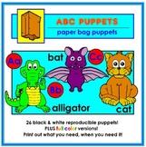 ABC Paper Bag Puppets