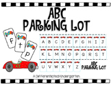 ABC Parking Lot-An Engaging, Aligned Letter Recognition Activity