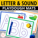 ABC Play Dough and Letter Tracing Mats