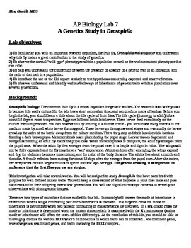 biology fruit fly experiment lab result Drosophila biology: the common fruit fly is a model organism for genetic studies the reason it is so widely used is because it is easily cultured in the lab, has a short generation time, and can produce many offspring.