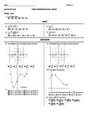 AP Calculus Semester Final 5 versions pdf format