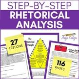Style Analysis/Rhetorical Analysis Unit