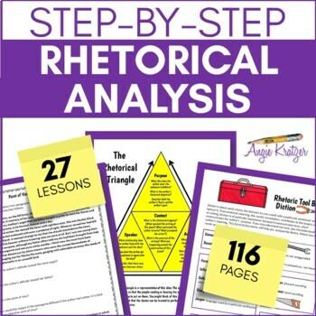 Rhetorical Analysis for Every Student