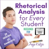Style Analysis/Rhetorical Analysis Unit