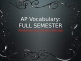 AP Vocabulary Terms, Definitions, and Examples for FULL SEMESTER