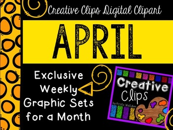 APRIL 2015 Graphics Club {Creative Clips Digital Clipart}