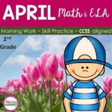 APRIL Daily COMMON CORE and MORE!  {Grade 2}