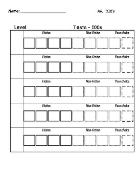 AR student forms