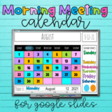 * Smartboard Forever Calendar 'Sunny Day' Circle/Meeting/Carpet