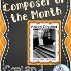 Aaron Copland FREEBIE Composer of the Month Bulletin Board