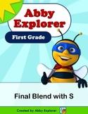 Abby Explorer Phonics - First Grade: Final Blend with Lett