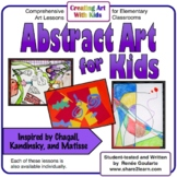 Art Lessons - Abstract Art For Kids Inspired by Chagall, K