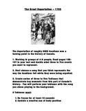 Acadian Deportation 1755 Tableaux Assignment