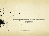 Accomplishments of New World Explorers