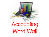Accounting Word Wall
