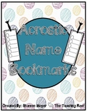 Acrostic Name Bookmarks {Celebrating Everything You Are}